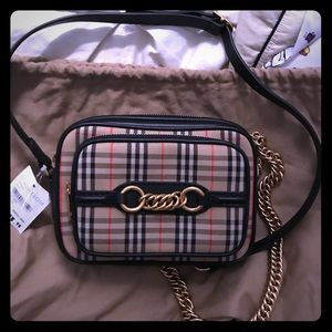 Burberry camera bag w/ tags retail price $895